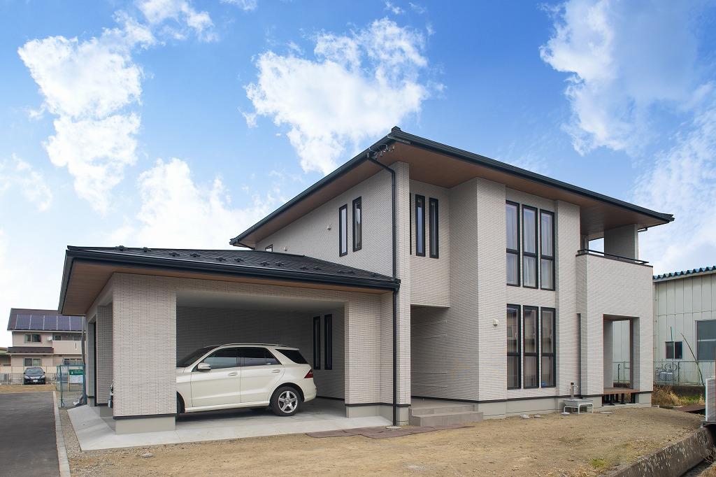BLANCのお住まい 松本市野溝木工